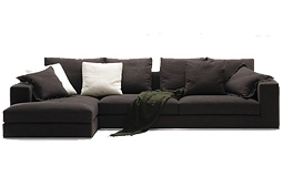 Modern Grey Sectional